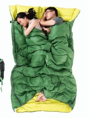 NatureHike NH 雙人睡袋190x150cm 極限-4度可壓縮收納袋體積小露營戶外登山