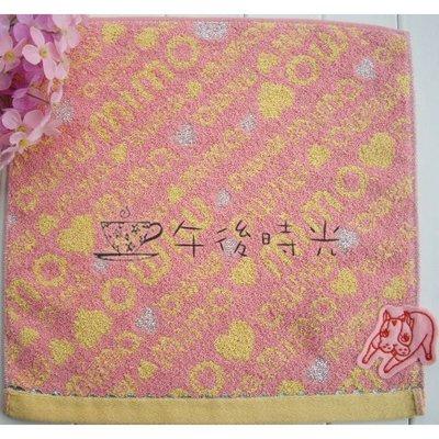 【午後時光】日本 Crystal Ball狗頭包副牌MIMO--英文字母 愛心 貼布 鬥牛犬 刺繡手帕/ 小方巾-5541