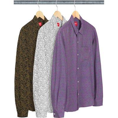【美國鞋校】預購 Supreme SS19 Vines Rayon Shirt 襯衫