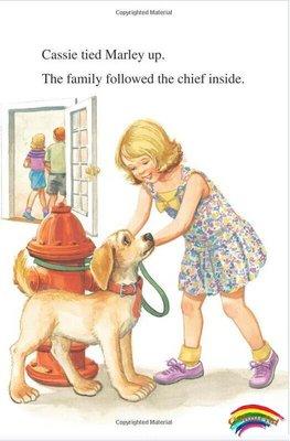 I can read系列 英文原版繪本 Marley: Firehouse Dog小狗瑪麗系列 第二階段英文繪本 兒童青少年英語漫畫圖書icanread
