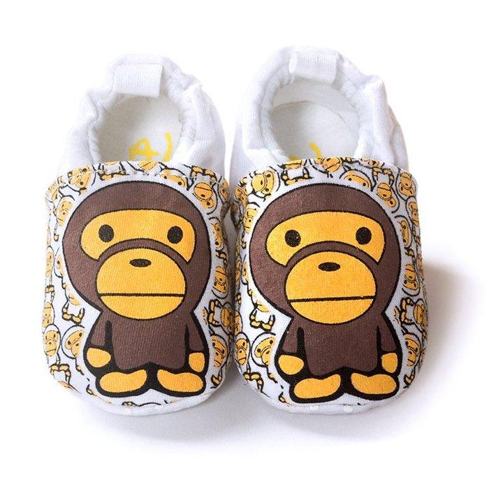 寶貝倉庫~可愛猿人不掉鞋~學步鞋~布底鞋~寶寶鞋~嬰兒鞋~防滑鞋~幼兒鞋~純棉鞋~坐學步車穿~彌月送禮~促銷1雙97
