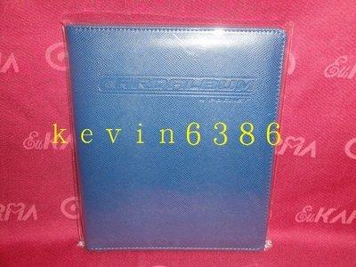 東京都-遊戲王卡-非牌組-籃球紋皮革四格收集冊.卡冊(藍色)(內附14張內頁.可放112張卡) 現貨