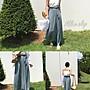 ☆Milan Shop網路最低價 正韓Korea專櫃款 高質感側綁帶百摺雪紡褲裙 3色$799(免運)現貨