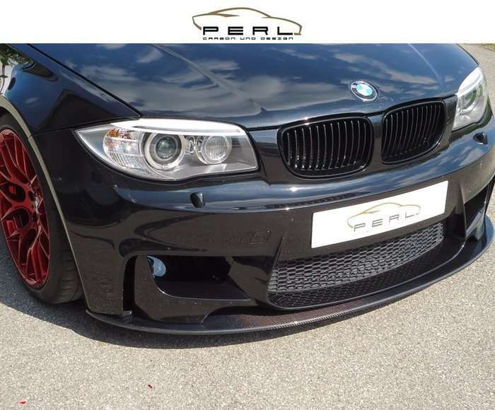 【樂駒】Perl Carbon Design BMW E82 碳纖維 carbon 前下巴 空力 外觀 套件 擾流 1M
