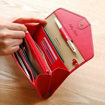 *魔幻甜心*【J067】出國必備.韓國多功能護照包.護照夾 旅行證件包 手機 護照證件卡包錢包 手拿包