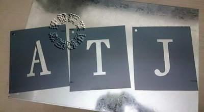 速發~工程噴漆板英文數字A-Z一套樓層數字模電腦切割字割噴漆字模加工~噴字模各式公司行號及告示牌等噴字模加工貨車斗車身~