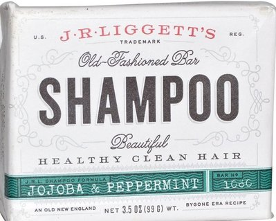 J.R. Liggett's 古老洗髮皂 Jojoba & Peppermint荷荷巴油+薄荷
