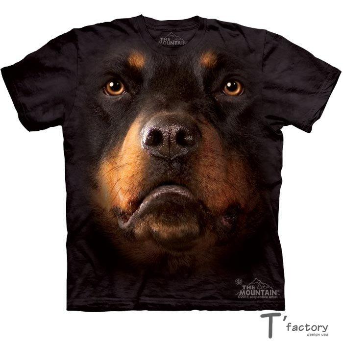 【線上體育】The Mountain 短袖T恤  M號 羅威犬 TM-103263.jpg