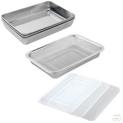 【Wendy Kids】日本製 Arnest 多功能不鏽鋼保鮮盒組 收納盒 烤盤