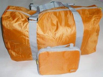 最好看 最好用 耐重 可折疊旅行袋,40L,超市購物袋 背包 手提袋 旅行袋 便利袋 登機箱 出國大採購;COSTCO