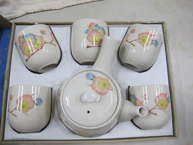 二手舖 NO.352 陶瓷茶器 6件式