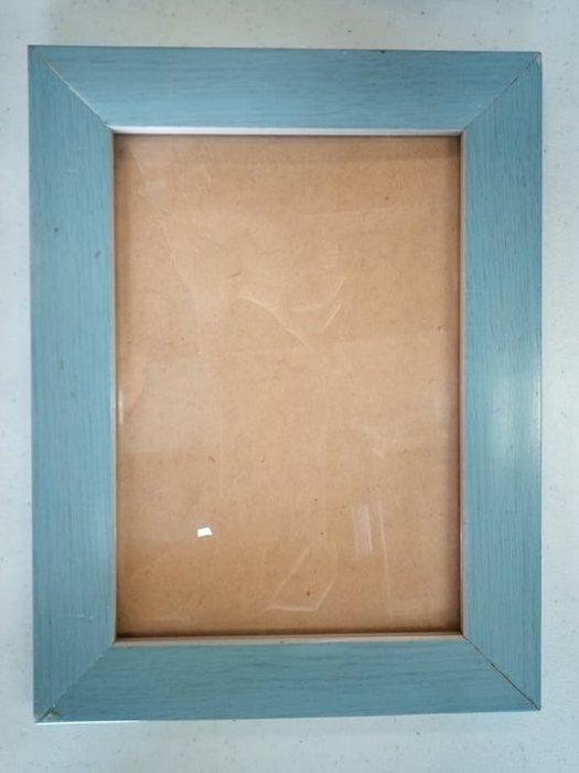 【宏品二手家具館】 台中二手家具 家電拍賣 X521216*藍色小相框* 二手家電拍賣 中古冷氣空調 電視 洗衣機