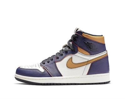 全新 8 現貨 Air Jordan 1 x Nike SB defiant lakers 刮刮樂 紫金 湖人 芝加哥 CD6578-507
