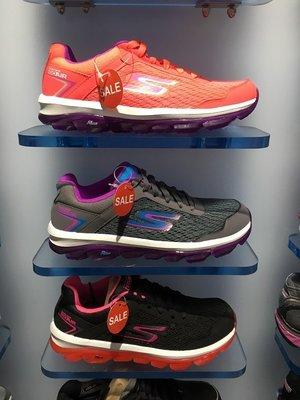 Skechers斯凱奇 go air女子輕便舒這氣墊休閑運動鞋跑步鞋14230