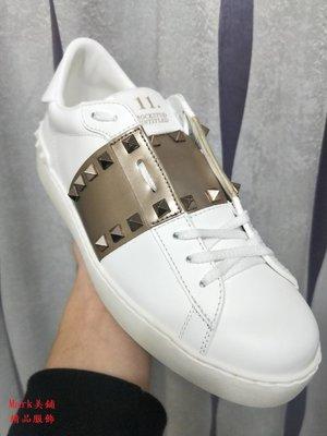 【Mark美鋪】VALENTINO 范倫鐵諾 VLTN 鉚釘 休閒 鞋