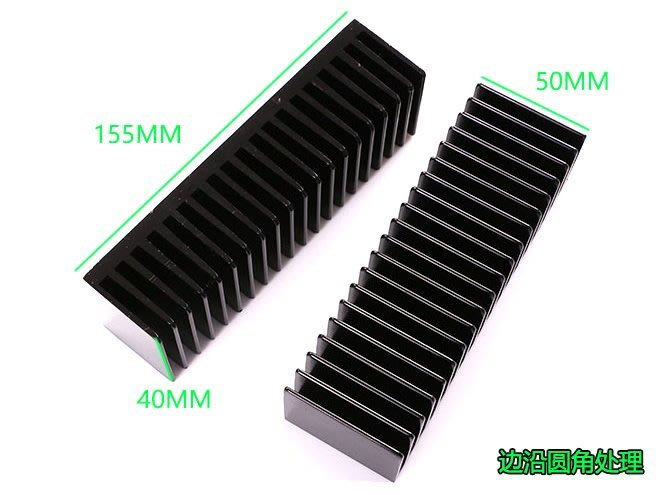 小白的生活工場*加厚型LM3886 TDA7293專用功放散熱器散熱片155*50*40mm