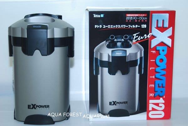 ◎ 水族之森 ◎ Tetra EX power EX-120 圓桶過濾器 (贈原廠白棉) 另有 其他型號 超低價優惠中