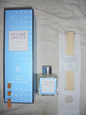 Heyland & Whittle英倫薇朵~清新亞麻擴香瓶100ml(現貨2份)2020/4製造