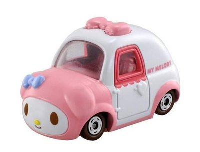 GIFT41 4165本通 三重店 TOMY美樂蒂玩具車模型4904810499121