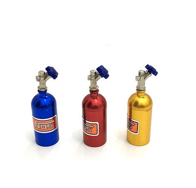 1/10 仿真 氮氣瓶 攀爬車 攀岩車 軍卡 大腳 TRX-4 D90 SCX10 場景裝飾配件
