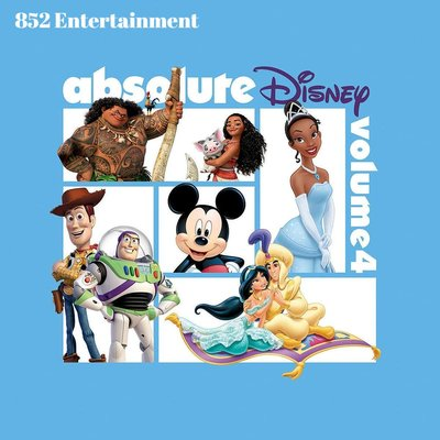 VA ABSOLUTE DISNEY: VOLUME 4 CD 2018 (包郵)