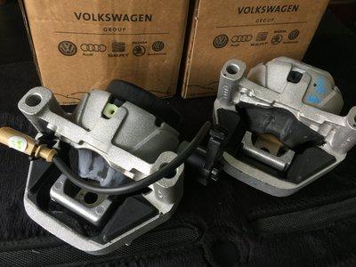 純正德國原廠 Audi A6 4G C7 2.0TSI Avant 專用前電子引擎腳組