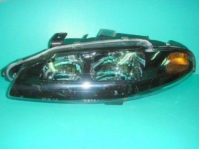 JY MOTOR 車身套件 - 三菱 日蝕 ECLIPSE 97 年 黑框 大燈 一顆2600 也有前保及後保桿