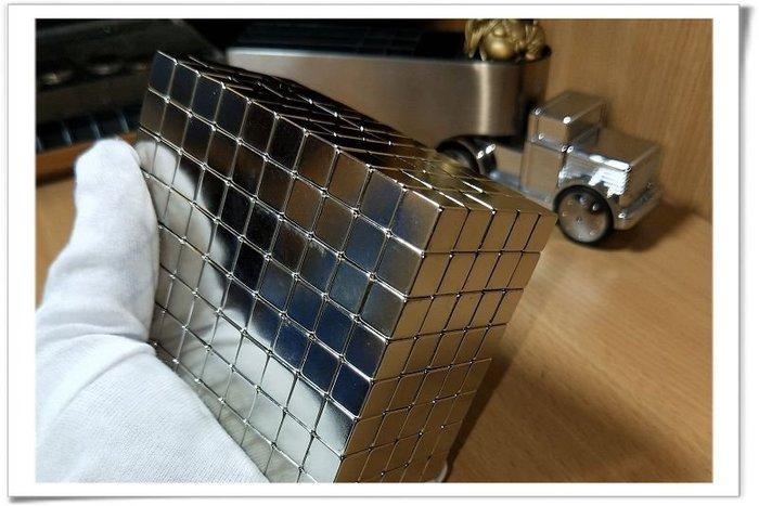 強力磁鐵規格10mmx10mmx10mm--當做便利貼冰箱貼很夠力哦!