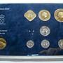 【鑒 寶】(世界各國錢幣)荷屬 安的列斯 1989年 7枚 精裝 套幣 --- ANDE E E E E BTG1798