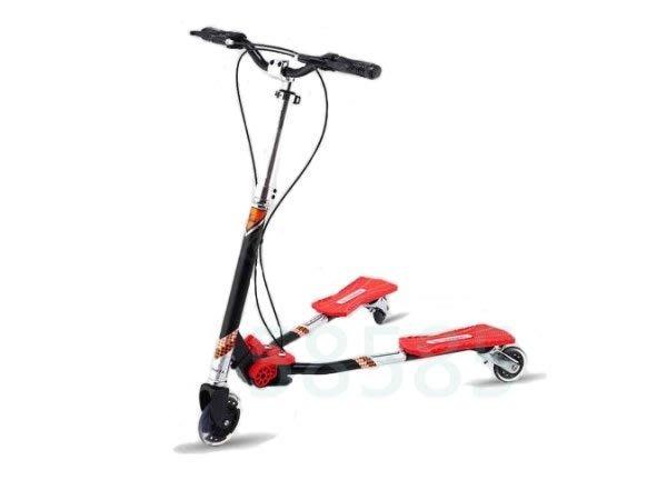 [奇寧寶雅虎館]290070-07 蛙式滑板車 T700 (8歲以上) / 搖擺式健身滑板車 運動車 滑板車 兒童滑板車