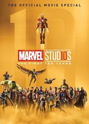 Marvel Studios The First Ten Years hardcover 黑豹 IRON MAN 美國隊長 雷神 奇異博士 鷹眼 HULK 訂