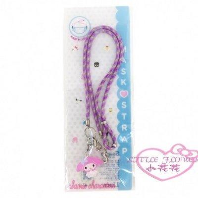 ♥小花花日本精品♥ KITTY 美樂蒂 雙子星 酷洛米 尼龍 口罩掛繩 口罩繩 口罩鍊 日本製 99123208