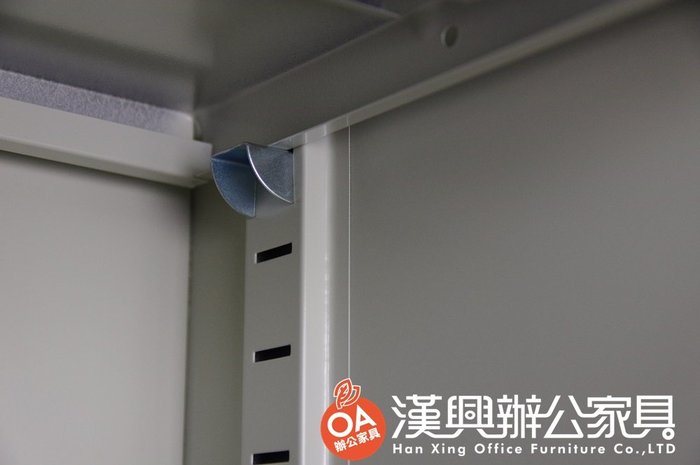 【漢興OA辦公家具】新品四尺玻璃門鐵櫃  台灣嚴謹製作