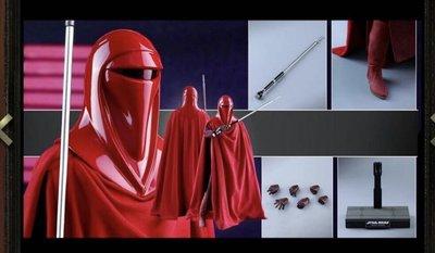 全新 1/6 HOTTOYS MMS469 Star Wars Episode VI Return Of The Jedi Royal Guard