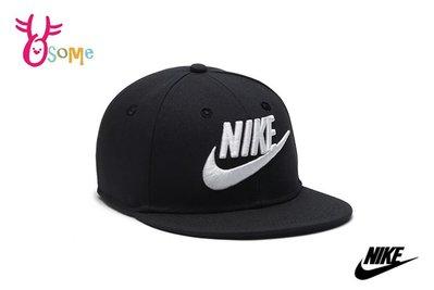 Nike Futura True 鴨舌帽 棒球帽 白電繡Logo A0467 #黑OSOME奧森童鞋
