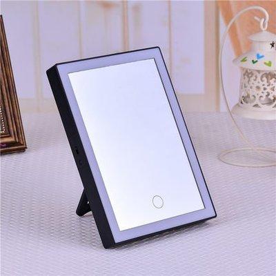 直立式、折疊式LED化妝鏡,大型折疊隨身可攜式梳妝台燈鏡(三色光)