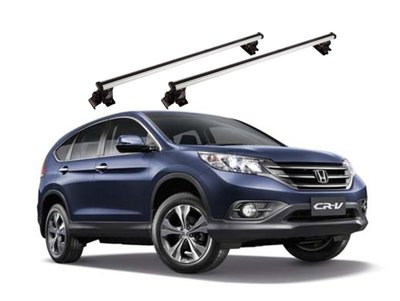 HONDA 2013 四代CRV休旅車車頂行李架橫桿置物架