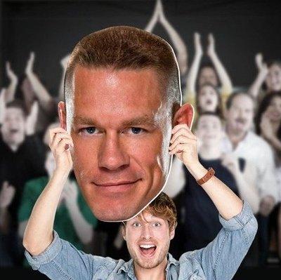 ☆阿Su倉庫☆WWE摔角 John Cena Big Head CENA巨幅大頭應援看板 熱賣特價 RAW台灣巡迴賽必備商品