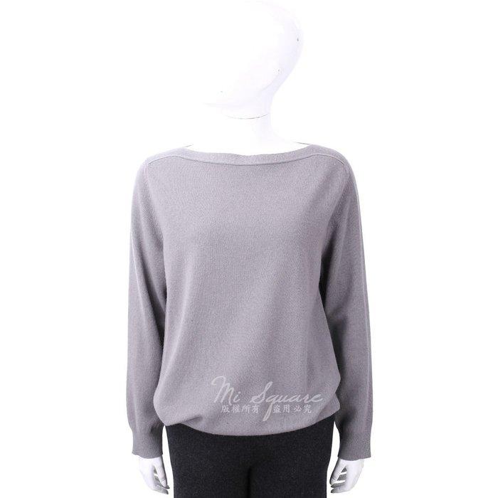 米蘭廣場 FABIANA FILIPPI 喀什米爾金蔥細節藕灰色美麗諾羊毛衫 1810030-D7