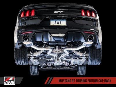 =1號倉庫= AWE Tuning Touring 中尾段 排氣管 2015-2017 FORD MUSTANG GT