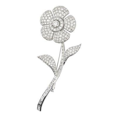 【JHT金宏總珠寶/GIA鑽石專賣】日本工藝天然鑽石別針/材質:18K(JB46-A06)