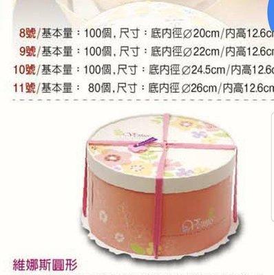 "【Peekaboo麵包屋】 12"" 蛋糕盒*2組起賣"