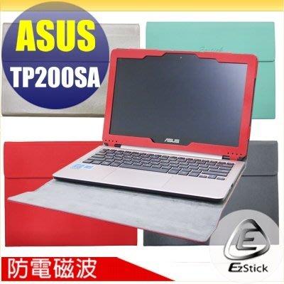【Ezstick】ASUS TP200 TP200SA系列 防電磁波專用皮套(筆記本款式)