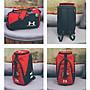 Under Armour/安德瑪 手提包 雙肩包 多功能大容量背包 單肩包 旅行包 健身包 籃球包 運動包黑色  紅色
