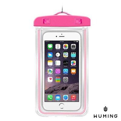 『無名』 觸控式 夜光 防水手機袋 防水袋 收納袋 旅行 海邊 防水套 iPhone SE 6S i6S K01109