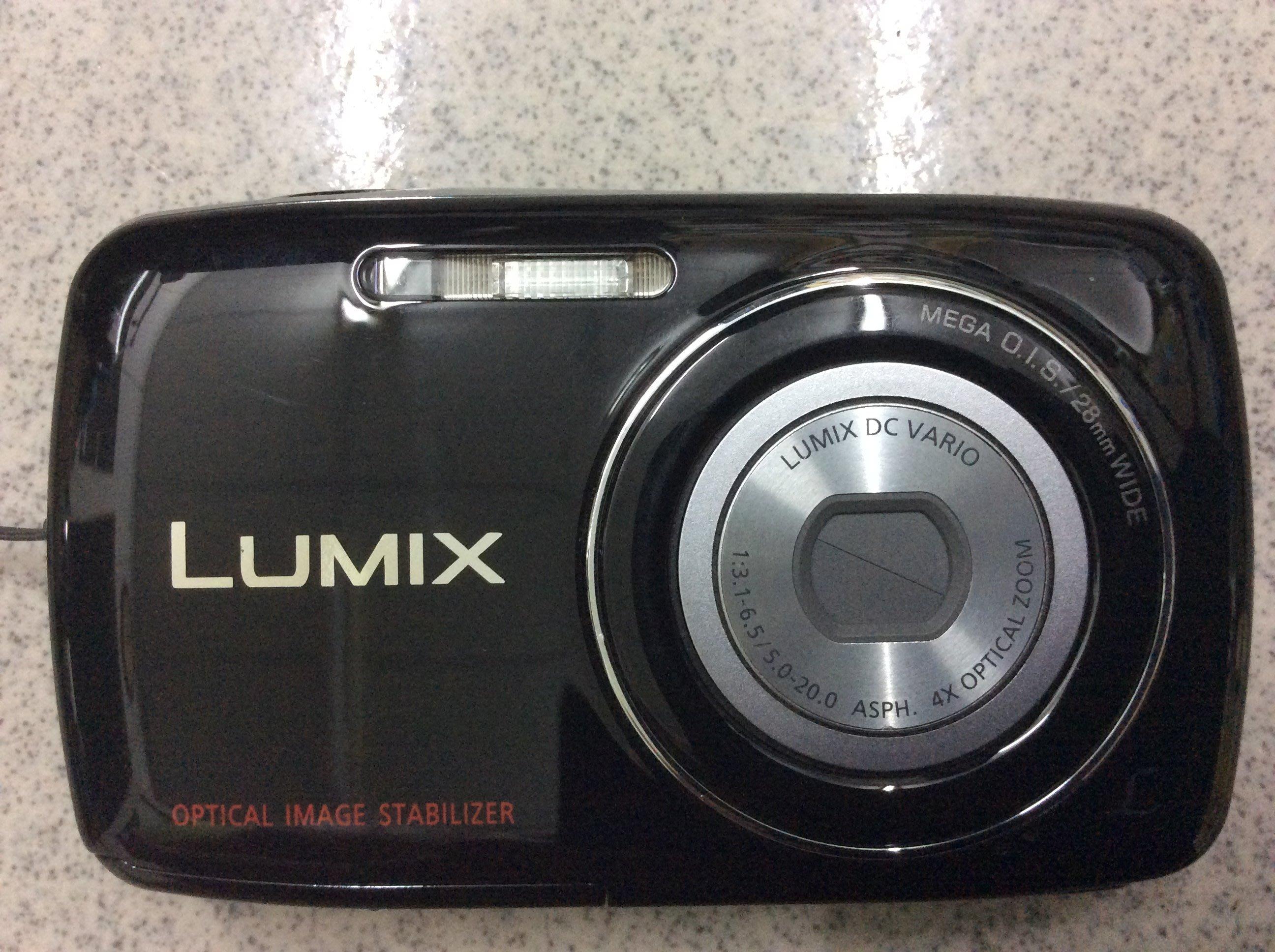 [保固一年] [高雄明豐] 國際牌 Panasonic Lumix 數位相機 黑色 DMC-S1GT 便宜賣