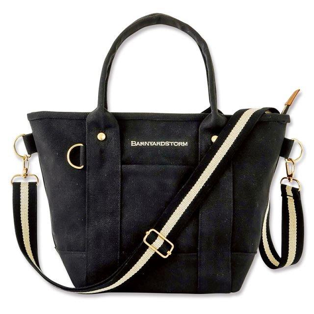 [瑞絲小舖]~日雜附錄BARNYARDSTORM 2用肩提包 托特包 斜背包 肩背包 單肩包 側背包 手提包