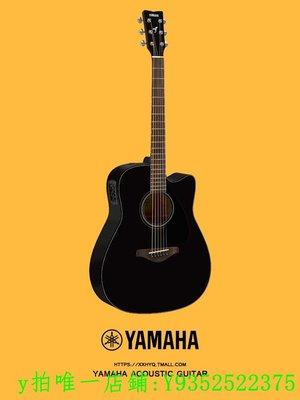 民謠雅馬哈吉他FG800 單板民謠吉他FG820 YAMAHA電箱木吉他FGX800C吉他
