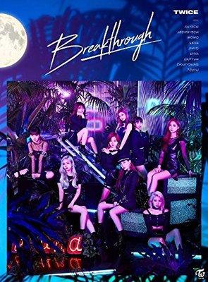 特價預購 特典IC卡付TWICE 周子瑜 Momo Sana Breakthrough (日版初回A盤CD+DVD)最新