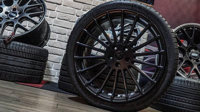 國豐動力 BMW X5 X6 X4 Hamann Anniversary EVO Black 21吋鋁圈 10.5J 單顆價格 未含輪胎 中古圈